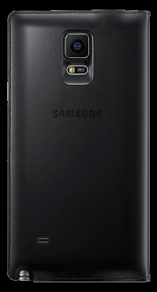 Чехол Samsung S View Wallet mini window EF-EN910FKEGRU Black для Galaxy Note 4 N910 - 2