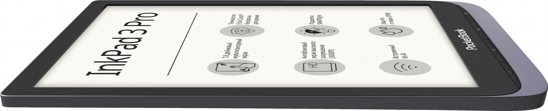 Электронная книга PocketBook InkPad 3 Pro 740 (PB740-2-J-CIS) Metallic Grey от Територія твоєї техніки - 4