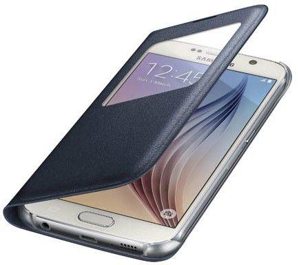 Чехол Samsung S View Zero для Samsung Galaxy S6 BlueBlack (EF-CG920PBEGRU) - 3