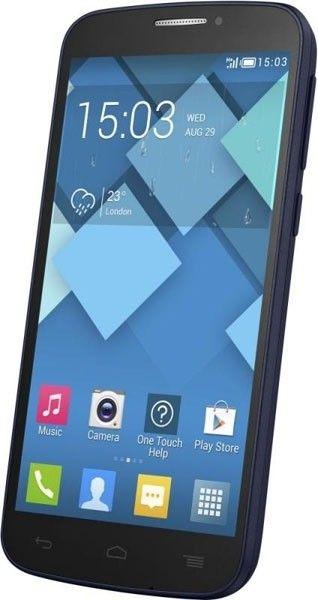 Мобильный телефон Alcatel One Touch 7041D POP C7 Dual Sim Bluish Black - 3
