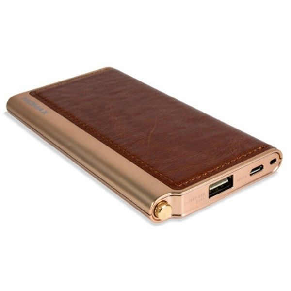 Портативная батарея MOMAX IPOWER ELITE EXTERNAL BATTERY PACK 5000MAH BROWN (IP51AF) - 1