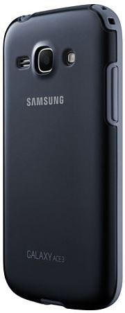Накладка Samsung Protective Cover+ для Galaxy Ace 3 Black (EF-PS727BBEGWW) - 2