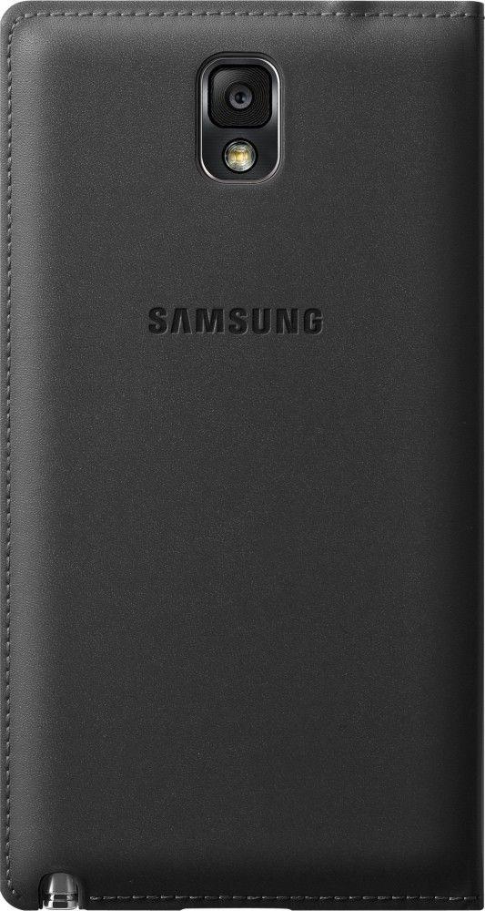 Чехол Samsung для Galaxy Note 3 Flip Wallet Jet (EF-WN900BBEGRU) Black - 2