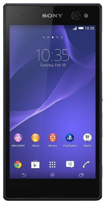 Мобильный телефон Sony Xperia C3 D2502 Black - 1