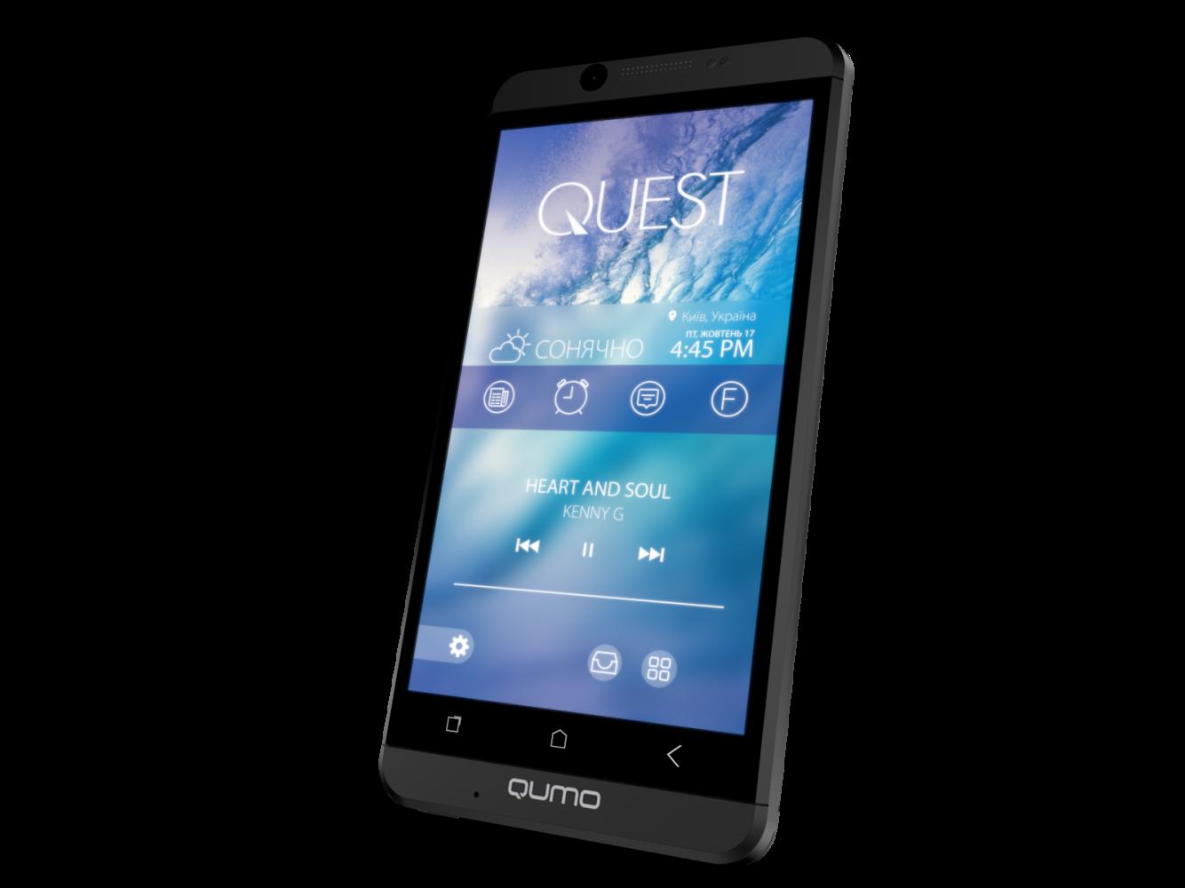 Мобильный телефон Qumo Quest 474 Black - 3
