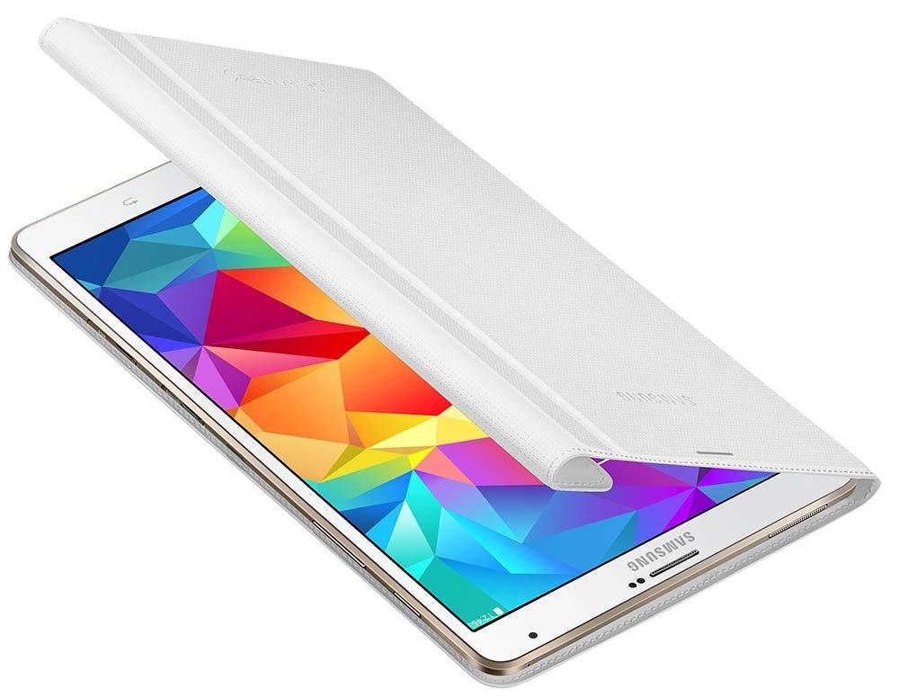 """Чехол Samsung для Galaxy Tab S 8.4"""" EF-BT700WWEGRU Dazzling White - 6"""