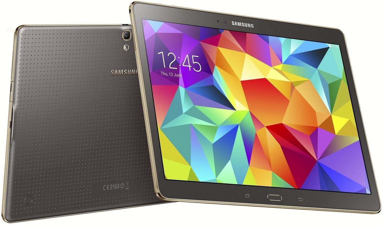 Планшет Samsung Galaxy Tab S 10.5 16GB Titanium Bronze (SM-T800NTSASEK) - 4