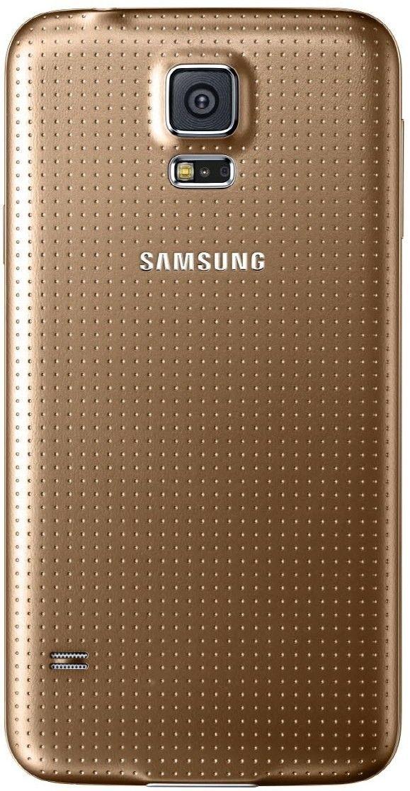 Мобильный телефон Samsung G900H Galaxy S5 (SM-G900HZDASEK) Copper Gold - 1
