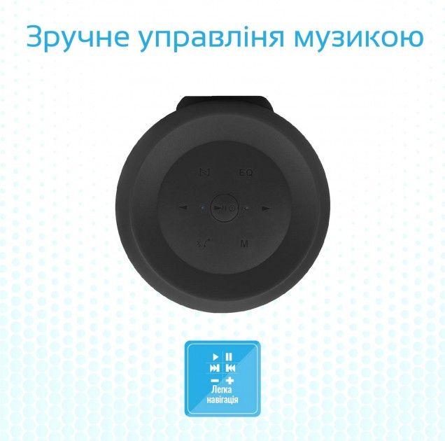 Портативная акустика Promate Silox Pro Black от Територія твоєї техніки - 3