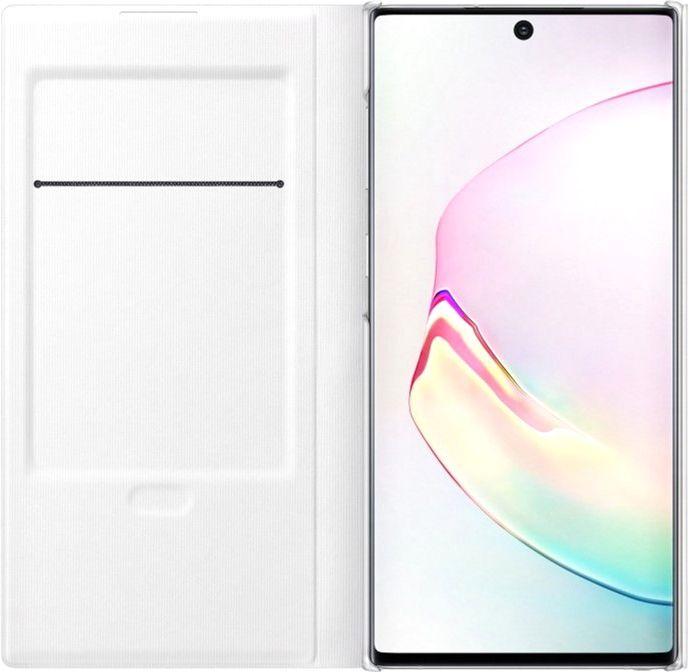Чехол Samsung LED View Cover для Samsung Galaxy Note 10 (EF-NN970PWEGRU) White от Територія твоєї техніки - 3