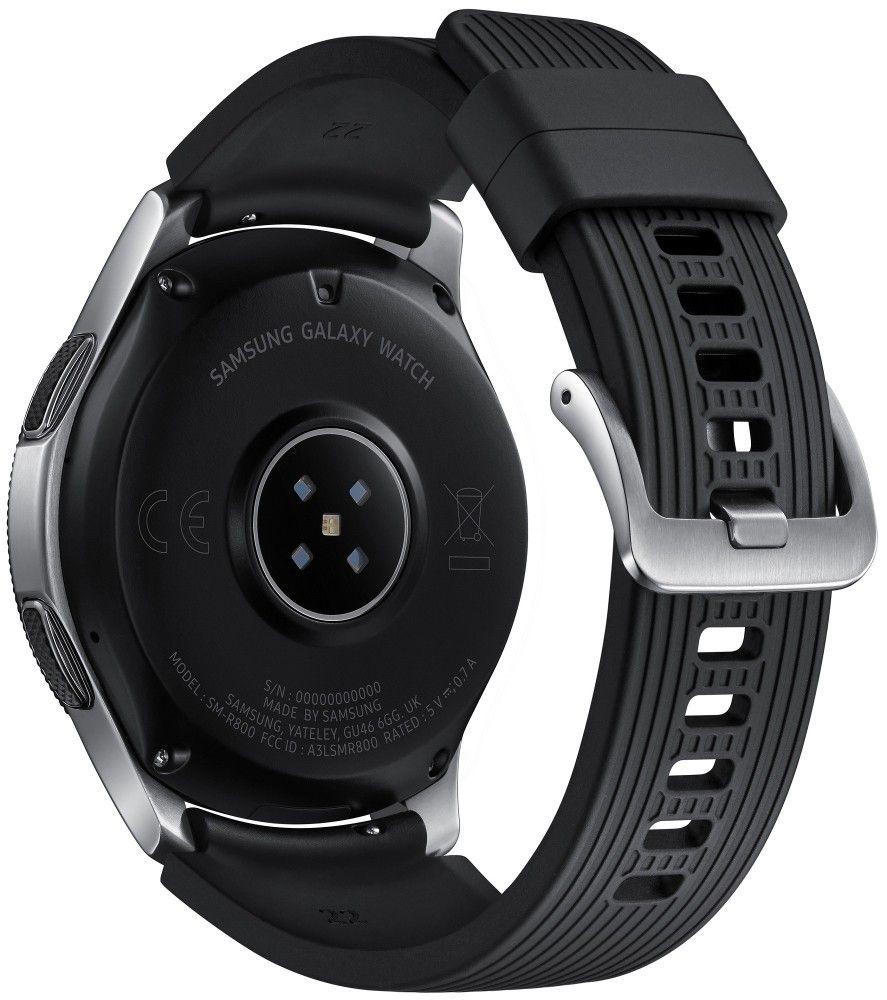 Смарт часы Samsung Galaxy Watch 46mm (SM-R800NZSASEK) Silver от Територія твоєї техніки - 2