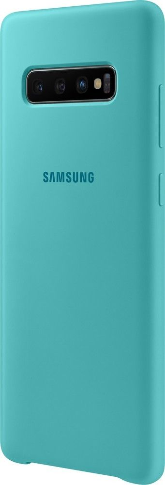Панель Samsung Silicone Cover для Samsung Galaxy S10 Plus (EF-PG975TGEGRU) Green от Територія твоєї техніки - 3