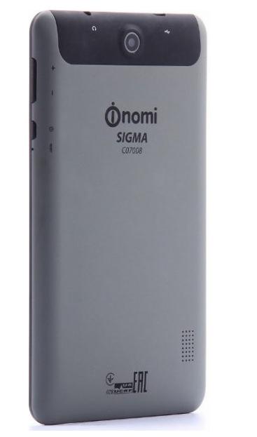 Планшет Nomi Sigma C07008 Black-Grey - 4