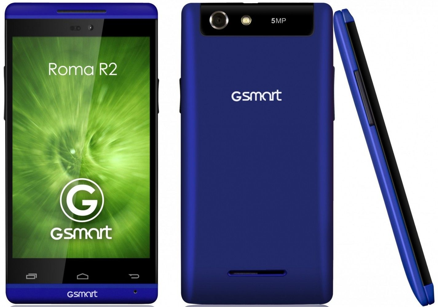 Мобильный телефон Gigabyte Gsmart Roma R2 Plus Blue - 2