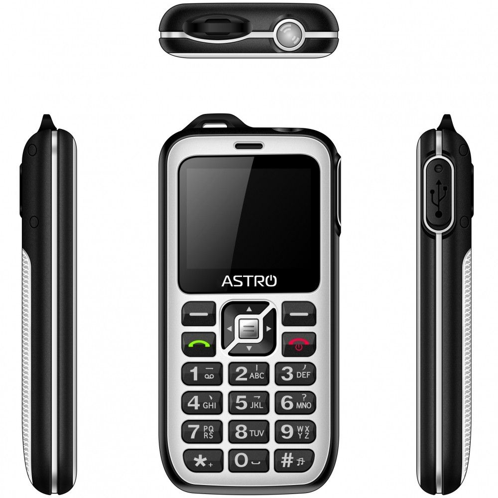 Мобильный телефон ASTRO B200 RX White - 2