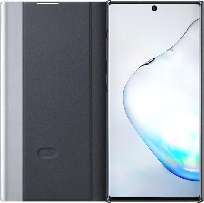 Чехол-книжка Samsung Clear View Cover для Samsung Galaxy Note 10 Plus (EF-ZN975CBEGRU) Black от Територія твоєї техніки - 3