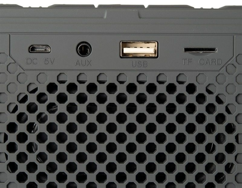 Портативная колонка Gelius Pro Duster (GP-BS520) Grey от Територія твоєї техніки - 8