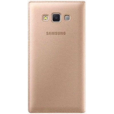 Чехол Samsung S View для Galaxy S7 Gold (EF-CG930PFEGRU) - 1