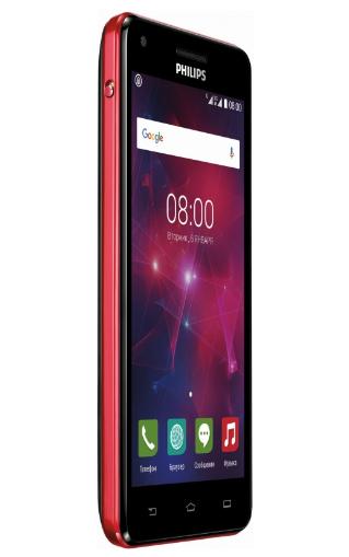 Мобильный телефон Philips Xenium V377 Black-Red - 1