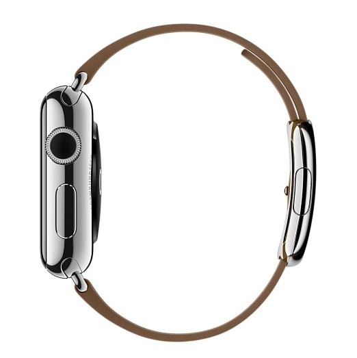 Ремешок Modern для Apple Watch 38мм (MJ542/MJ552) Brown - 4