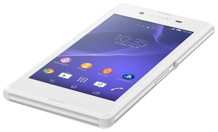 Мобильный телефон Sony Xperia E3 D2202 White - 1