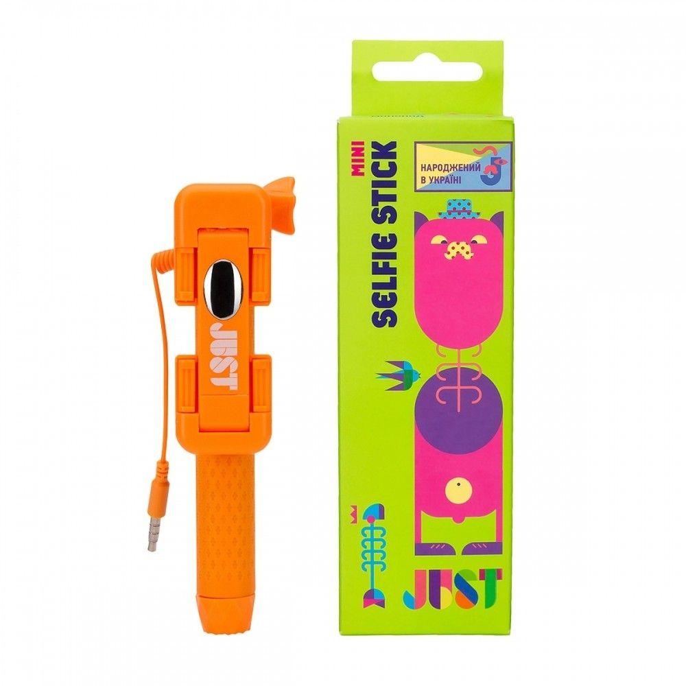 Монопод для селфи JUST Selfie Stick Mini Orange (SLF-STKMN-ORG) - 1