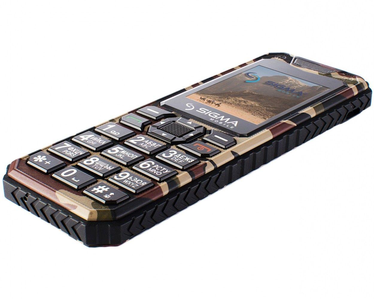 Мобильный телефон Sigma mobile X-style 11 Dragon Coffe Camouflage - 4