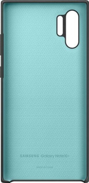 Накладка Samsung Silicone Cover для Samsung Galaxy Note 10 Plus (EF-PN975TBEGRU) Black от Територія твоєї техніки - 3