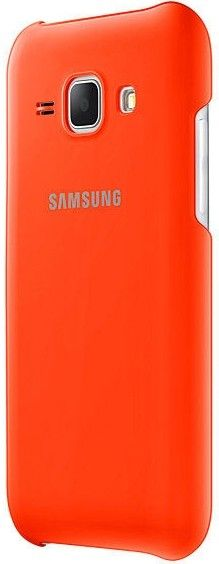 Накладка Samsung EF-PJ100B для Samsung Galaxy J1 J100H Orange (EF-PJ100BOEGRU) - 1