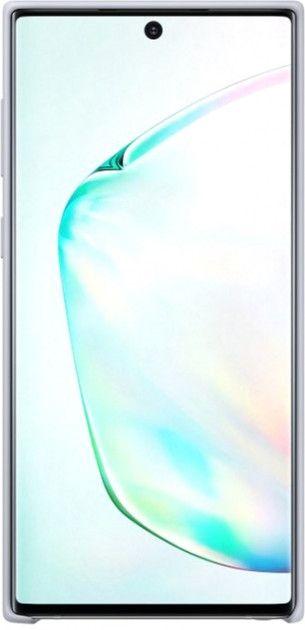 Накладка Samsung Silicone Cover для Samsung Galaxy Note 10 (EF-PN970TSEGRU) Silver от Територія твоєї техніки - 2