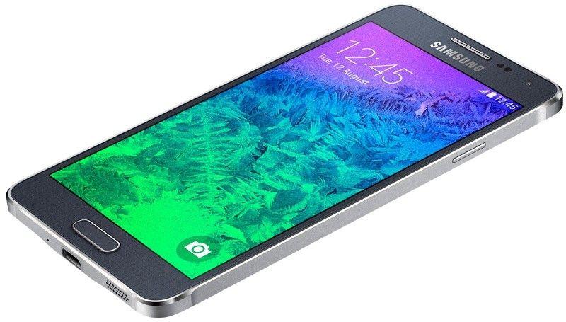 Мобильный телефон Samsung Galaxy Alpha G850F Charcoal Black - 4