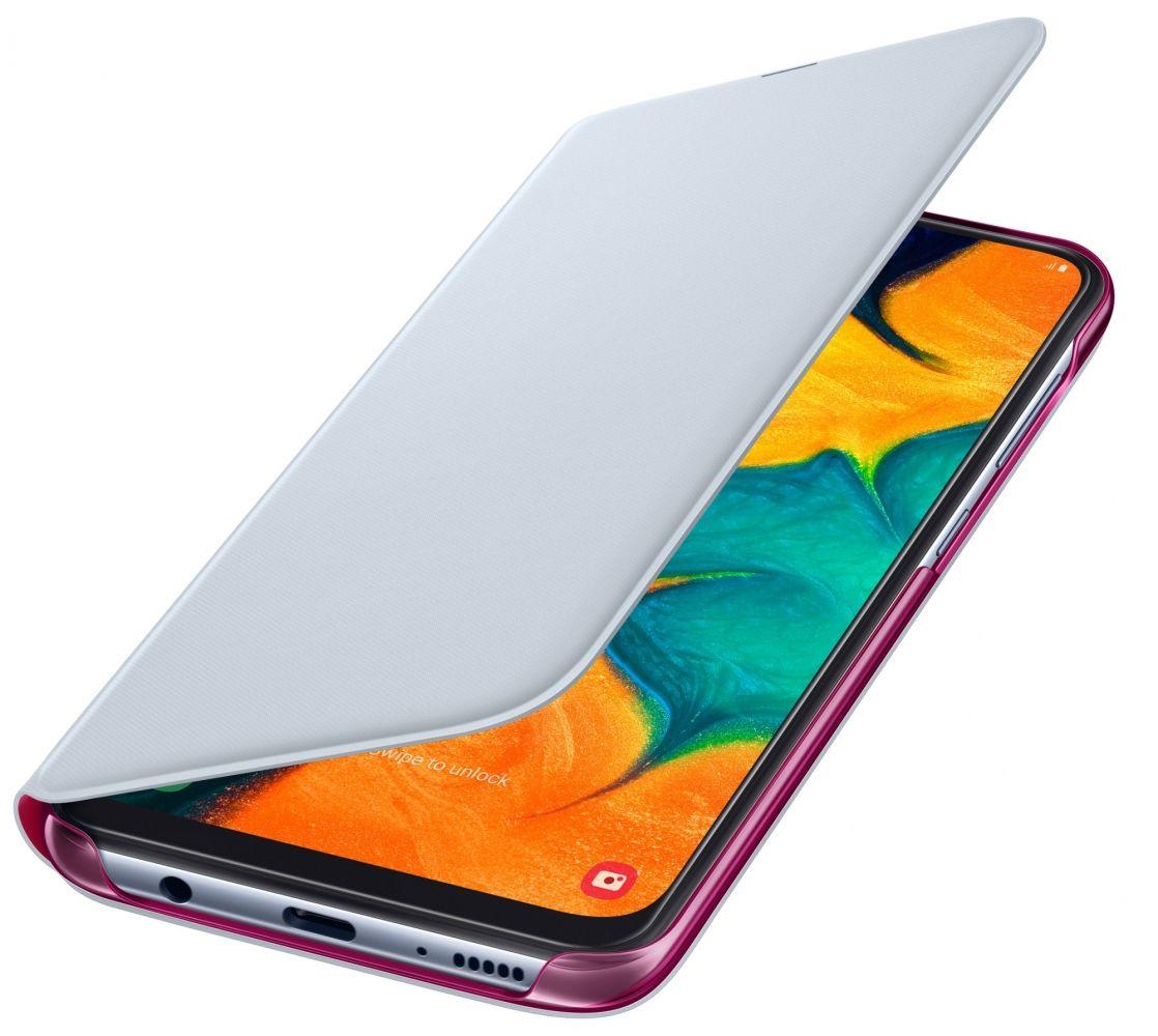 Чехол-книжка Samsung Wallet Cover для Samsung Galaxy A30 (EF-WA305PWEGRU) White