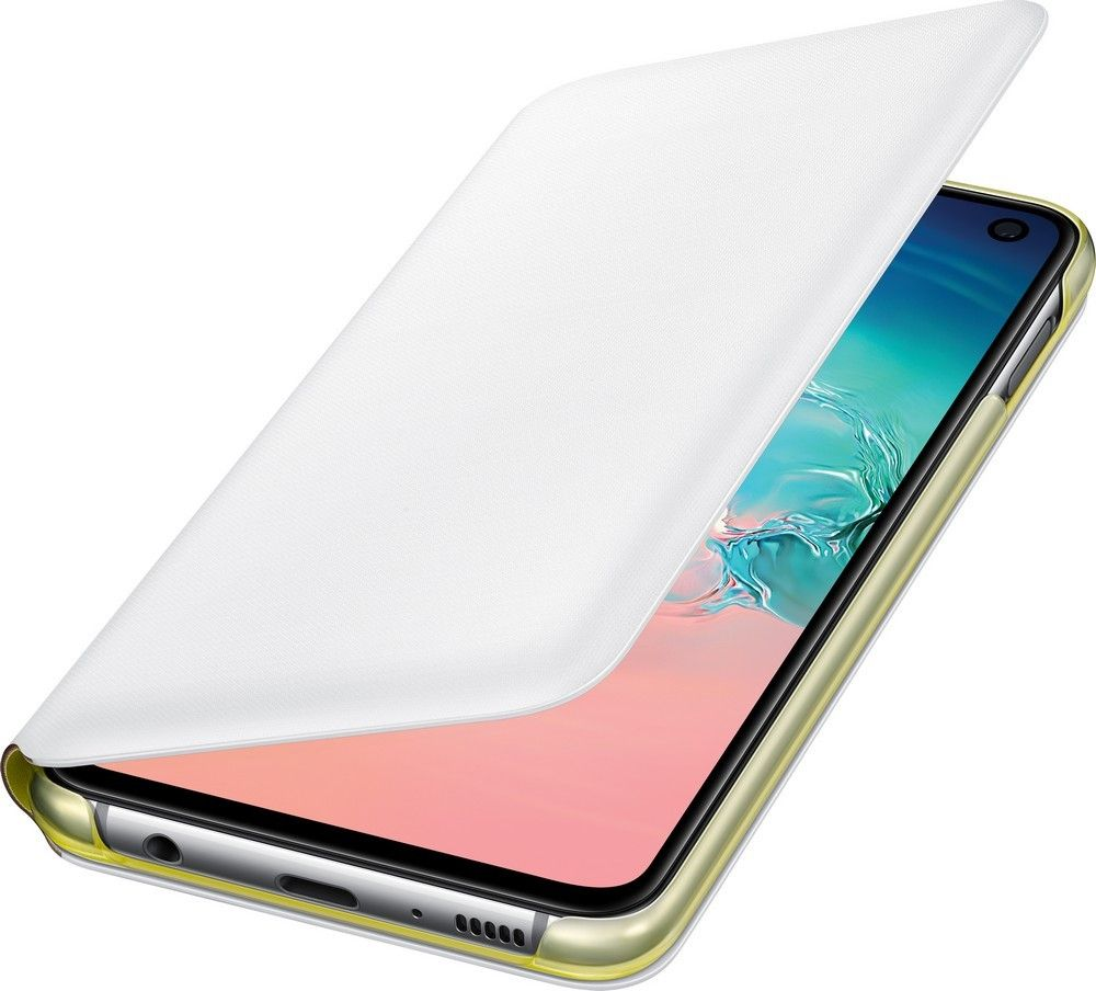 Чехол-книжка Samsung LED View Cover для Samsung Galaxy S10e (EF-NG970PWEGRU) White от Територія твоєї техніки - 4