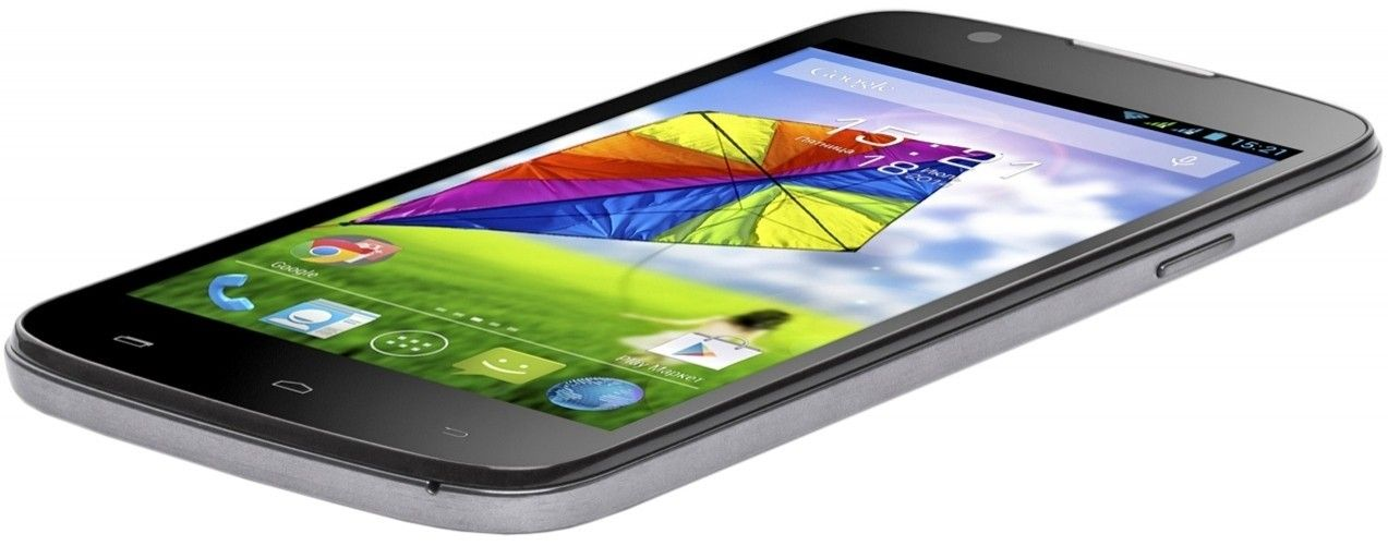 Мобильный телефон Fly IQ4413 Quad EVO Chic 3 Silver - 3
