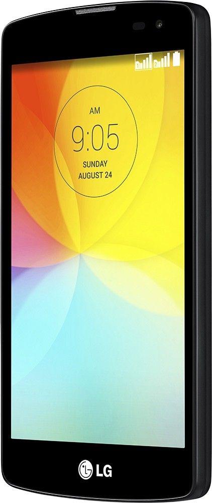 Мобильный телефон LG L Fino D295 Dual Sim Black - 3