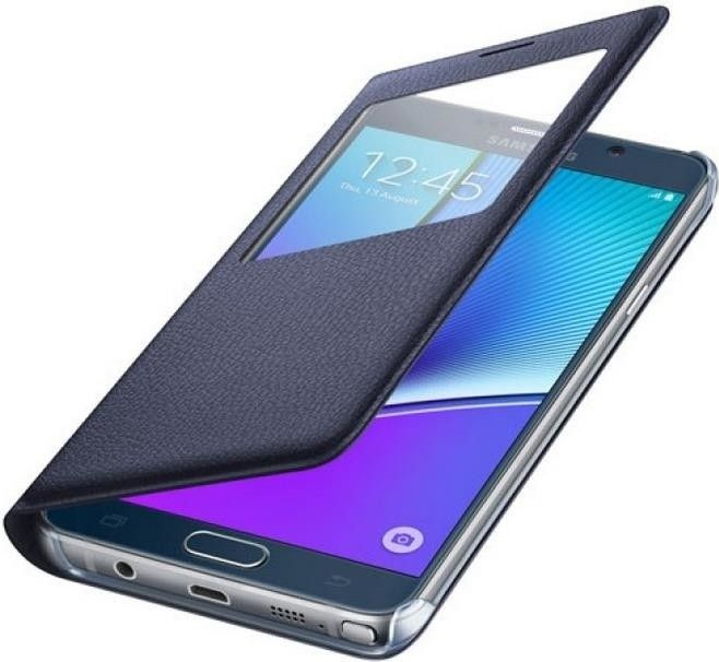 Чехол Samsung Note 5 N920 EF-CN920PBEGRU Blue Black - 2