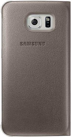 Чехол Samsung Zero Edge для Samsung Galaxy S6 Edge Gold (EF-WG925PFEGRU) - 1