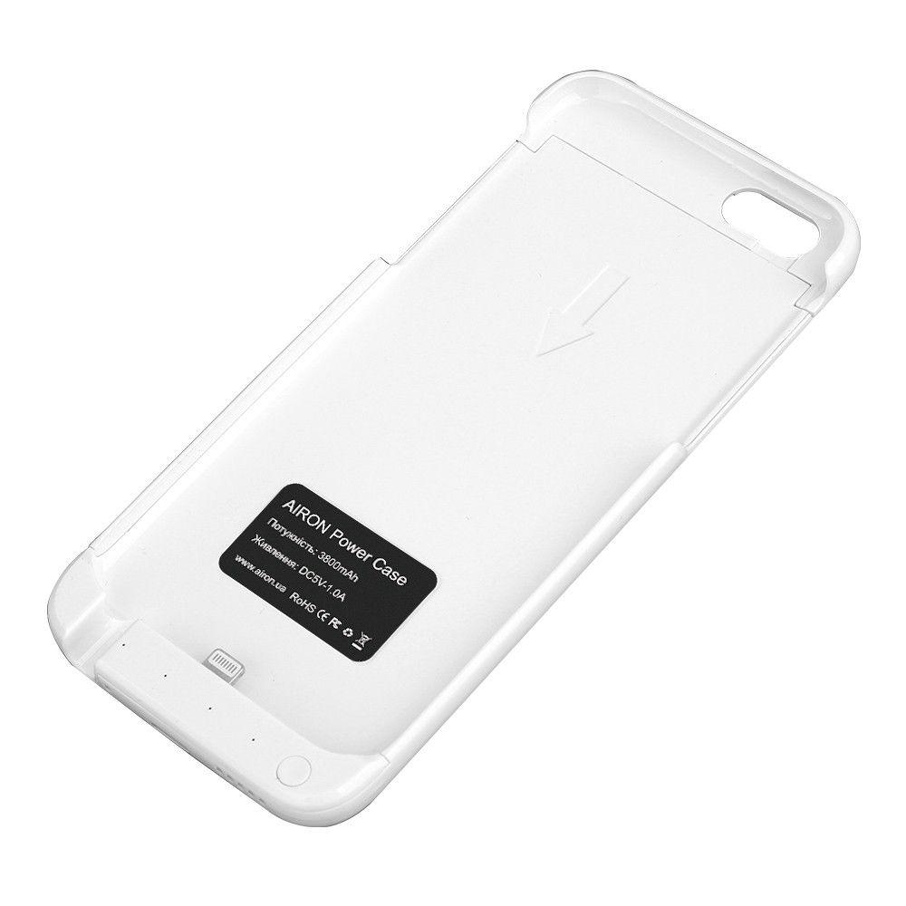 Чехол-аккумулятор AIRON Power Case для IPhone 6/6s White - 2
