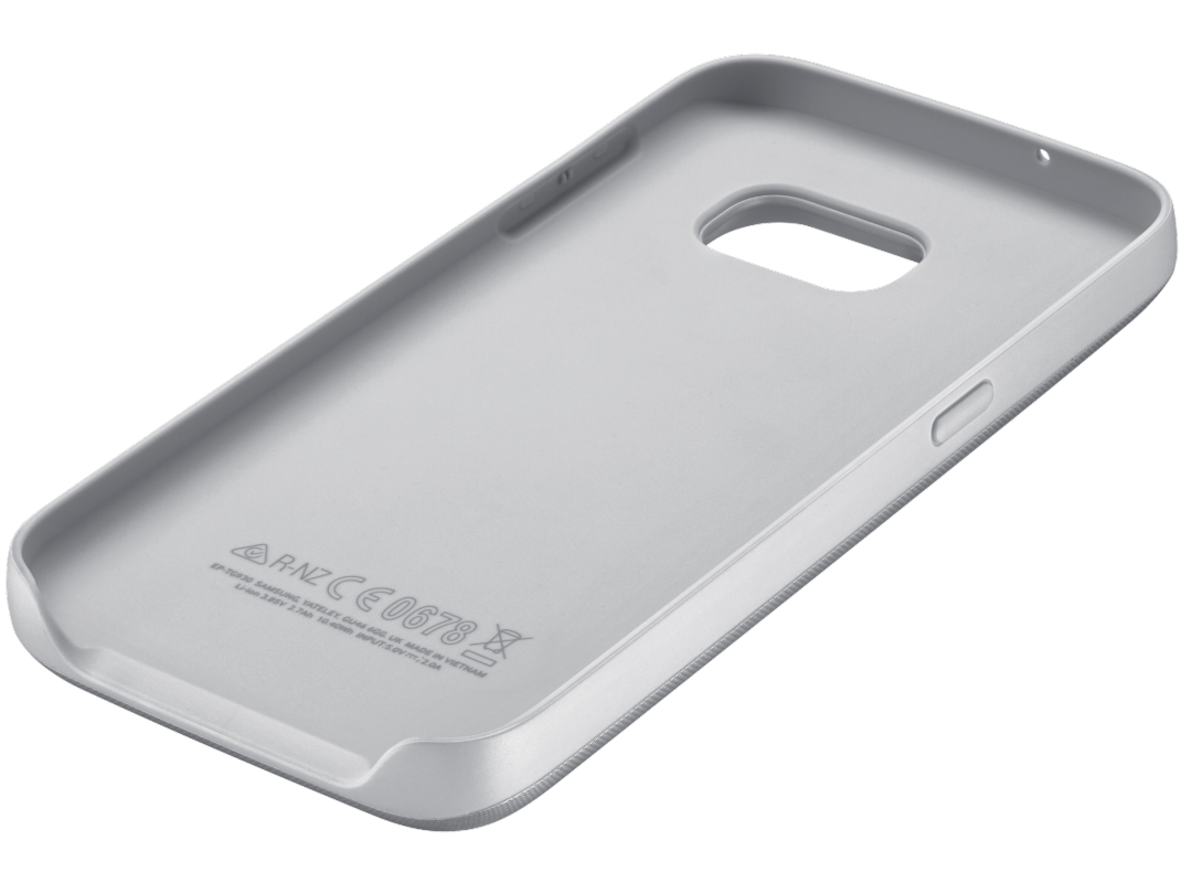 Чехол-аккумулятор Samsung Backpack Cover S7 Edge Silver (EP-TG935BSRGRU) - 1