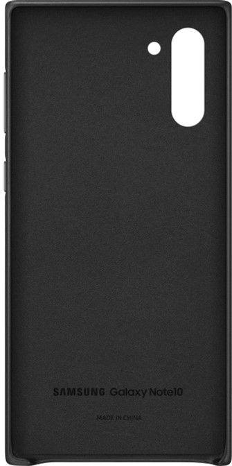 Чехол Samsung Leather Cover для Samsung Galaxy Note 10 (EF-VN970LBEGRU) Black от Територія твоєї техніки - 3