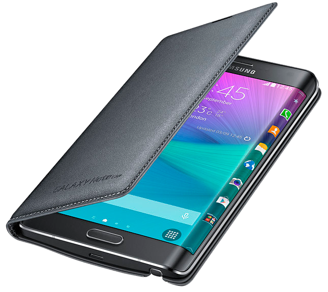 Чехол Samsung Flip Wallet для Galaxy Note Edge EF-WN915BCEGRU Charcoal - 1