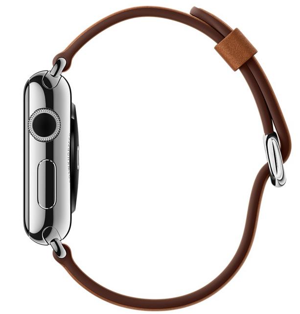 Ремешок Classic для Apple Watch 38мм (MLDY2) Saddle Brown - 3