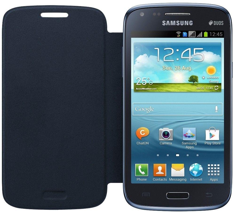 Чехол Samsung для Galaxy Core I8262 Blue (EF-FI826BLEGWW) - 3