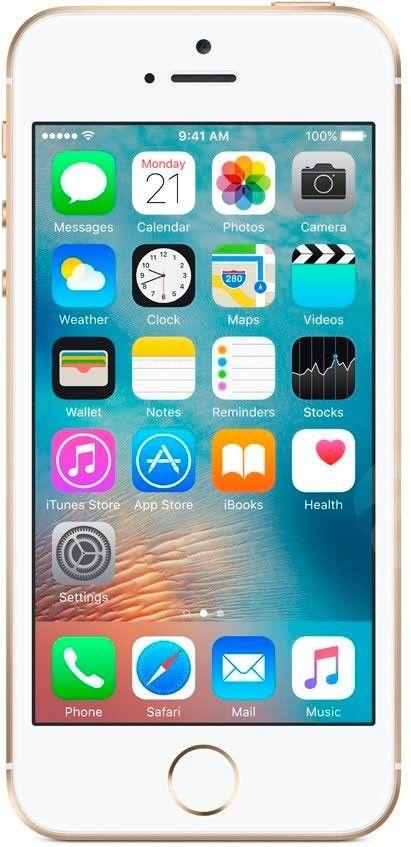 Мобильный телефон Apple iPhone SE 16GB Gold - 1