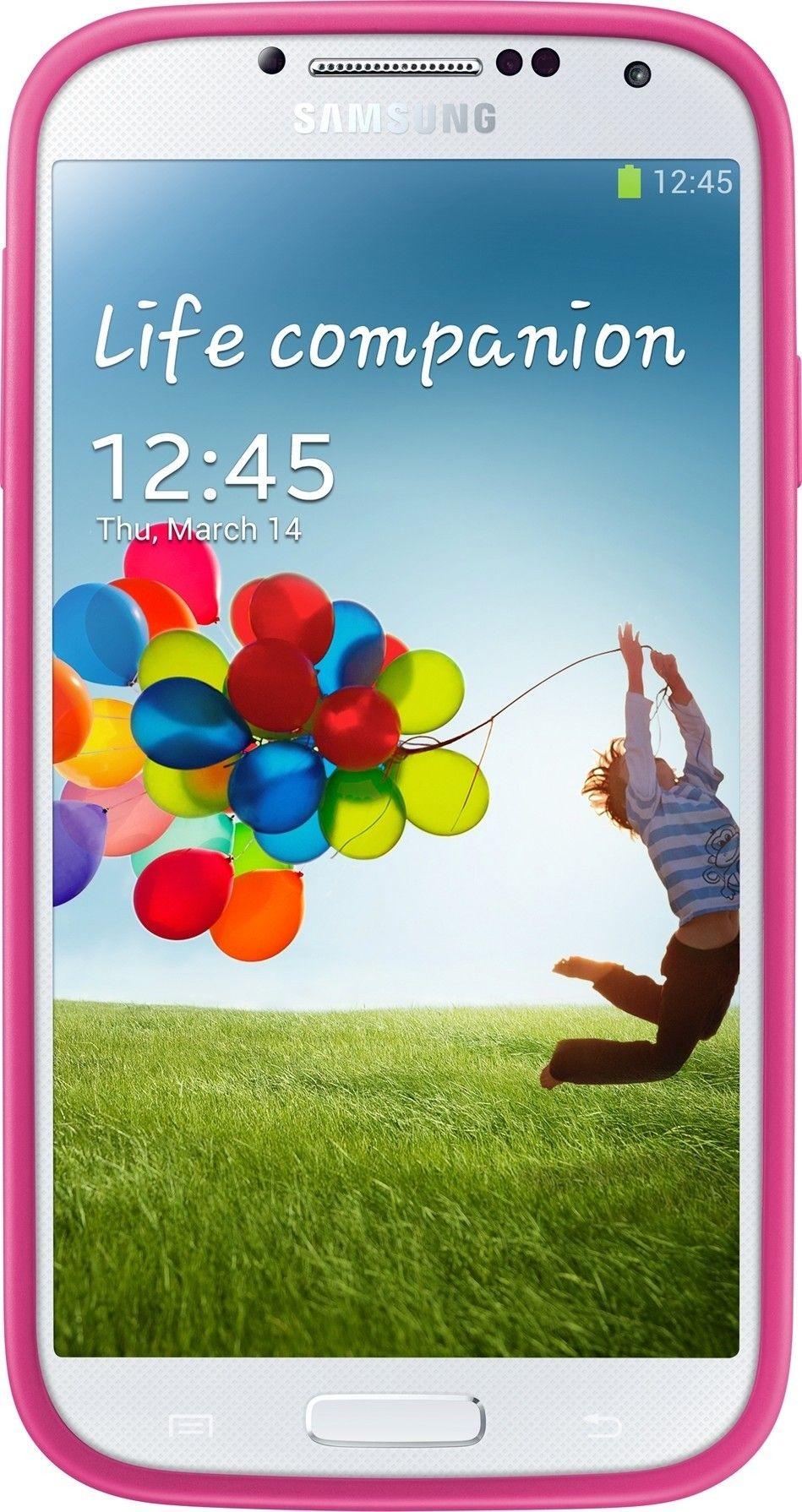 Чехол Samsung для Galaxy S4 I9500 Pink (EF-PI950BPEGWW) - 1