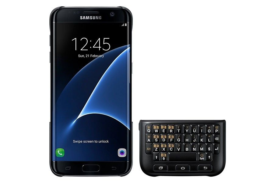 Чехол-клавиатура Keyboard Cover Samsung Galaxy S7 edge - 1