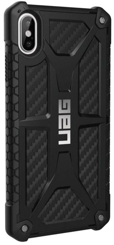 Панель Urban Armor Gear Monarch для Apple iPhone Xs Max (111101114242) Carbon Fiber от Територія твоєї техніки - 4