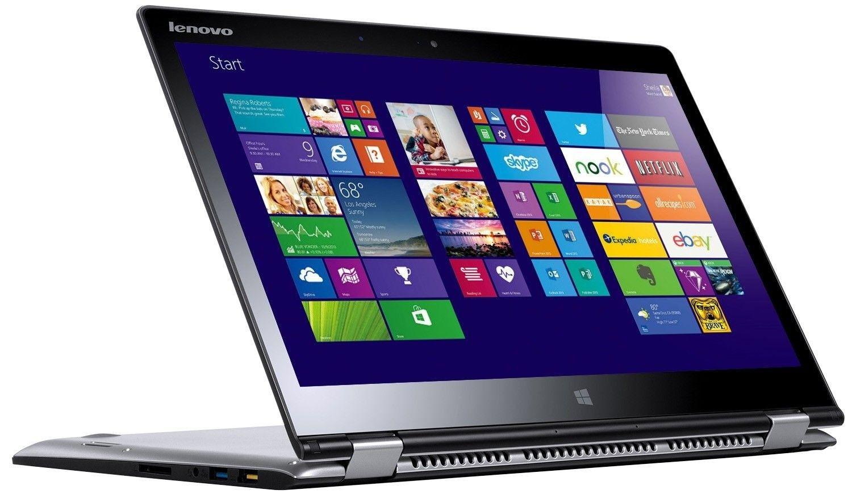 Ноутбук Lenovo Yoga 3 14 (80JH003EUA) Silver - 1