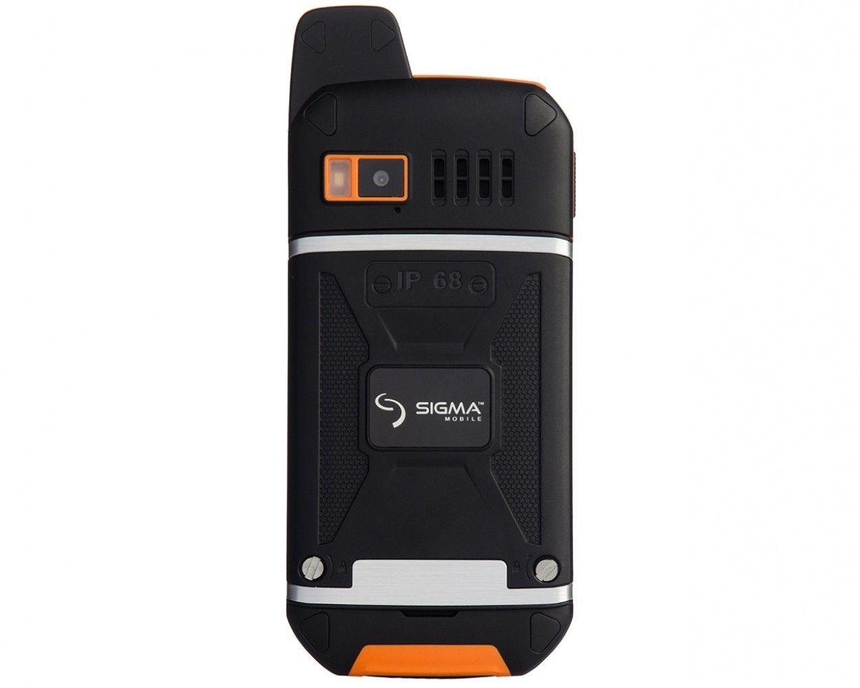 Мобильный телефон Sigma mobile X-treme 3SIM Black-Orange - 2