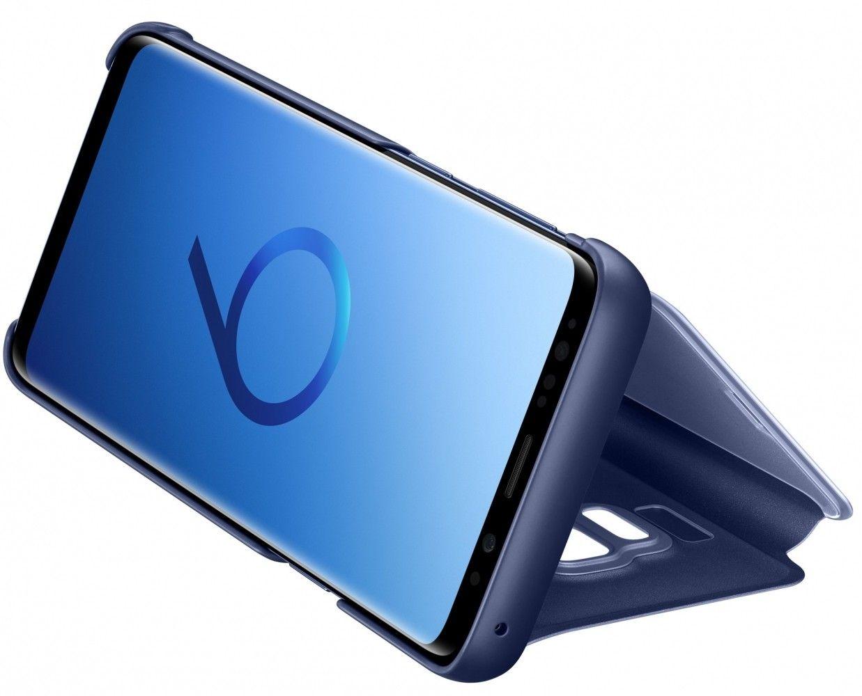 Чехол-Книжка Samsung Clear View Standing Cover S9 Blue (EF-ZG960CLEGRU) от Територія твоєї техніки - 5